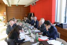 mesa de trabajo reguladores europeos