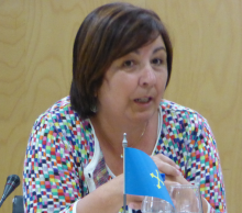 Dª Pilar Alonso Alonso Directora General de Interior Gobierno del Principado de Asturias