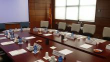 Imagen: mesa reunión Reguladores Iberoamericanos - DGOJ