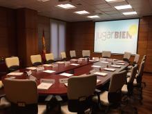 Foto: sala reunión reguladores europeos